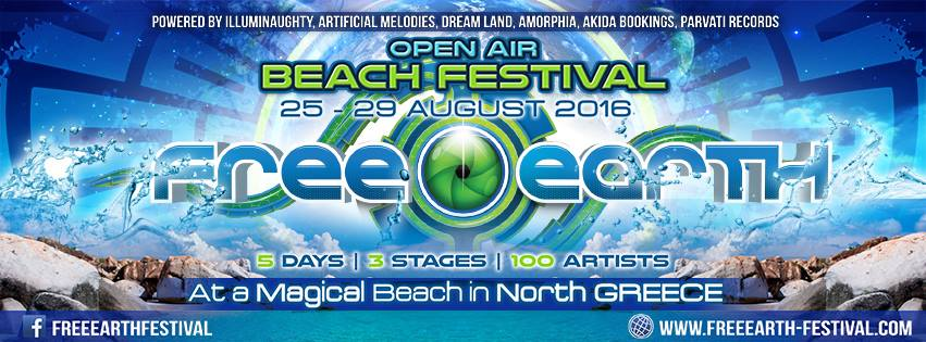 Free Earth Festival - Halkidiki,Thessaloníki, Greece