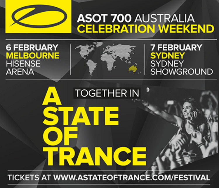 A State Of Trance 700 Melbourne  6 February 2015