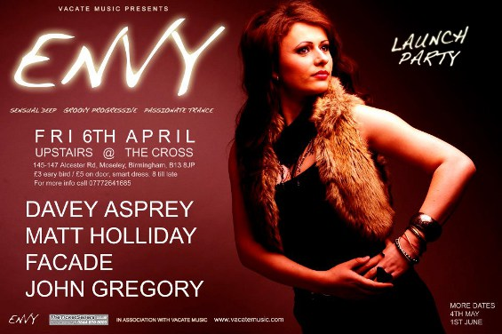 ENVY at Upstairs @ The Cross Tickets