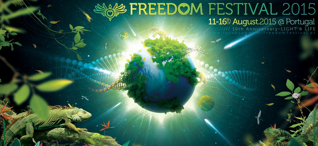FREEDOM FESTIVAL 2015 / 11 -16 August Portugal