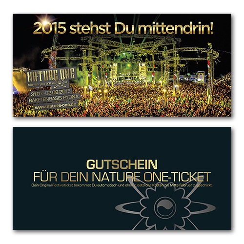 NATURE ONE 2015 | Festival - July, 31st - August, 2nd 2015