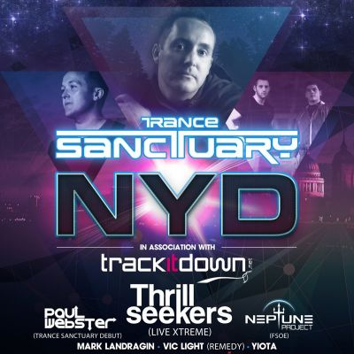 Trance Sanctuary NYD * Thu 1st January 2015 EGG  LONDON